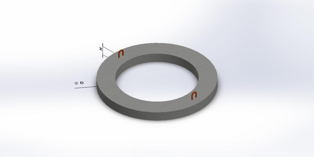 Кольцо Опорное Ко-6-3 Вес